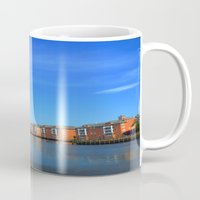 wisconsin Mugs featuring Battleship Wisconsin by Raymond Earley