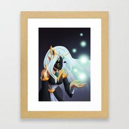 Goddess of Life and Death Framed Art Print