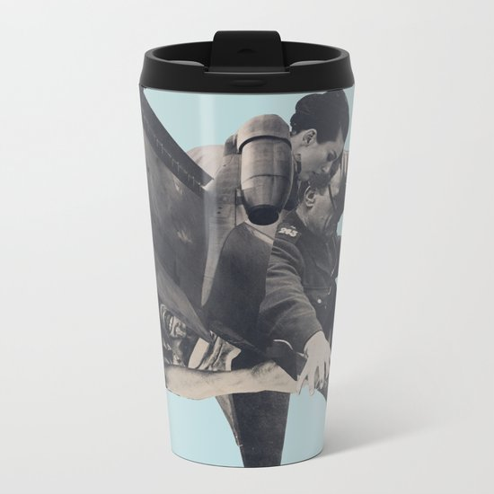 The Rushing Fog Metal Travel Mug