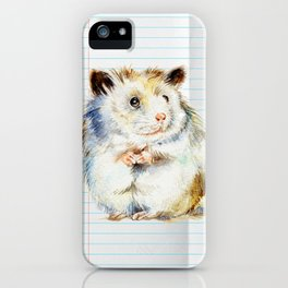 The small hamster iPhone Case