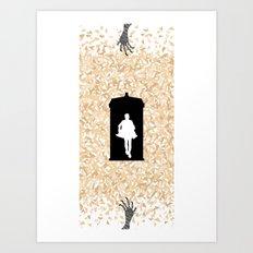 Doctor Who - Eternity Art Print