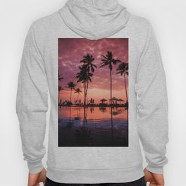 Paradise Sunset Tropical (Color) Hoody