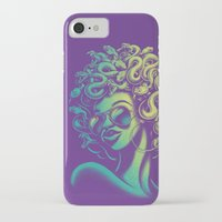 funky iPhone & iPod Cases featuring Funky Medusa by Waynem