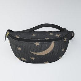 Book Cover Moon Fanny Pack
