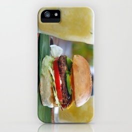 Gourmet Burger and Smoothies  iPhone Case