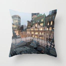 London, The City Throw Pillow