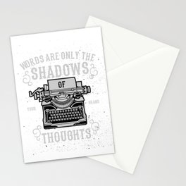 Shadows Of Thoughts Stationery Cards