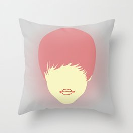 Young belieber Throw Pillow