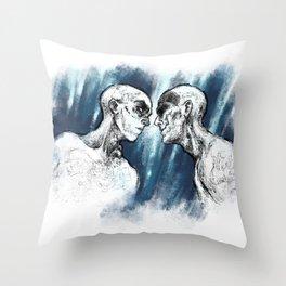 WAR BOYS Throw Pillow