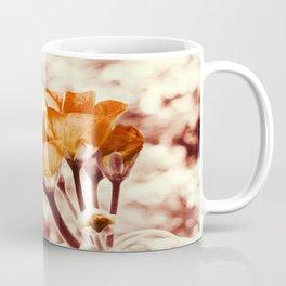 Golden Flowers Coffee Mug