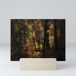 Autumn tree in the forest at Yosemite national park California USA Mini Art Print