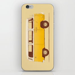 Van - Yellow iPhone Skin