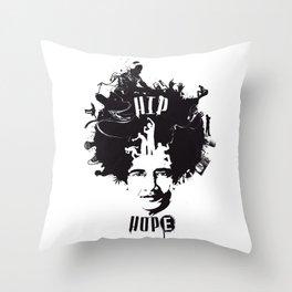 HIP HOPE Throw Pillow