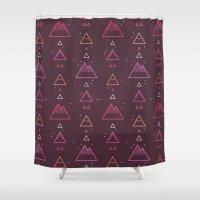 rocks Shower Curtains featuring Rocks by Mario Graciotti