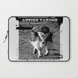 Action Yakson: King of the Yaks Laptop Sleeve