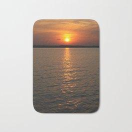 Sundown on the Lake Bath Mat