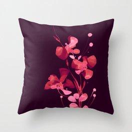 Organic Impressions 334zl by Kathy Morton Stanion Throw Pillow