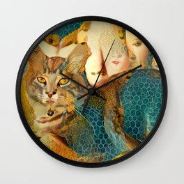 Channeling the Classics Wall Clock