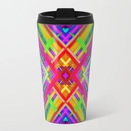 Colorful digital art splashing G475 Travel Mug