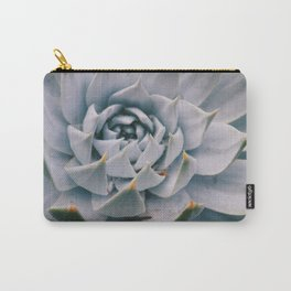 Pale Succulent Center Carry-All Pouch