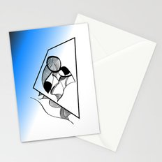 Abstract L2 Stationery Cards