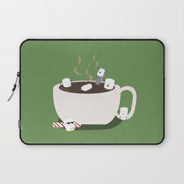 Marshmallow Hot Tub Laptop Sleeve