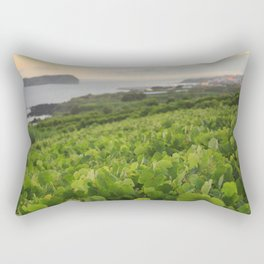 Grapevines and islet Rectangular Pillow