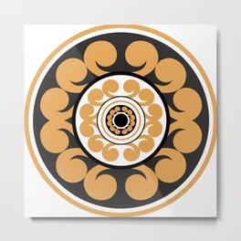 Roundie 1 Metal Print