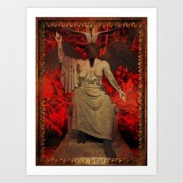 Baphomet Tarot Art Print