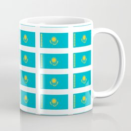 flag of Kazakhstan -Kazakhstan,Kazakh,Қазақстан,Казахстан,Kazakhstani,Astana. Coffee Mug