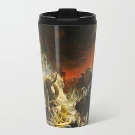 Karl Bryullov  - The Last Day Of Pompeii Travel Mug