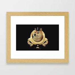 Dogecoin Framed Art Print