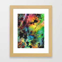 Peace In Chaos Framed Art Print