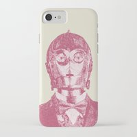 c3po iPhone & iPod Cases featuring C3PO by NJ-Illustrations