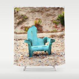 Art's Chair Shower Curtain