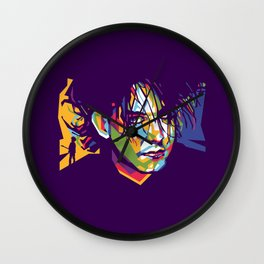 Robert Smith Pop Art Wall Clock