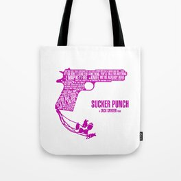 Sucker Punch Pink Tote Bag
