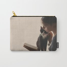 The PurrFect Read Carry-All Pouch