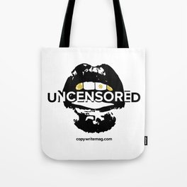 CW UNCENSORED Tote Bag