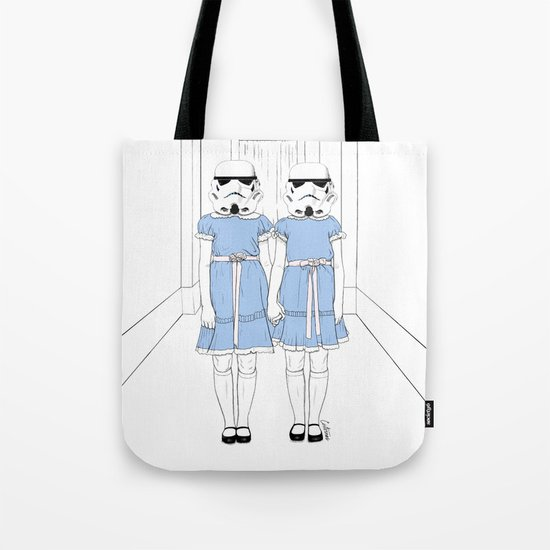 Grady twins troopers Tote Bag