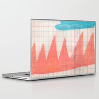 crown Laptop & iPad Skins featuring CROWN by Becca Brooks Morrin