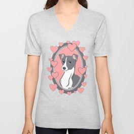 Italian Greyhound Love Unisex V-Neck