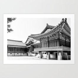 The King's Bed Chambers_Changdeokgung Palace Art Print