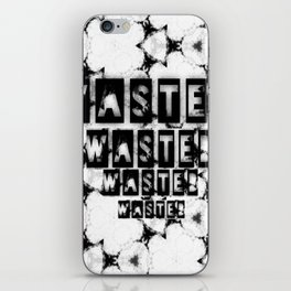 WASTEDTIME iPhone Skin