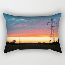 The Warmth Of Lincolnshire Rectangular Pillow