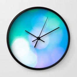 Bokeh II Wall Clock