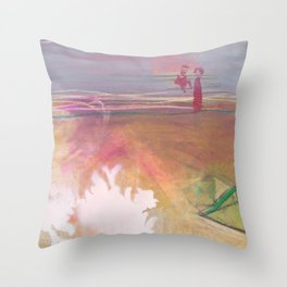 Relax, Baby Throw Pillow