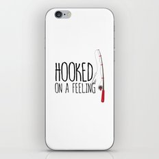 Hooked On A Feeling | Fishing iPhone & iPod Skin