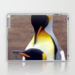 Male and Female King Penguins Laptop & iPad Skin