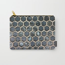 Tiles, Fashion Textures Carry-All Pouch